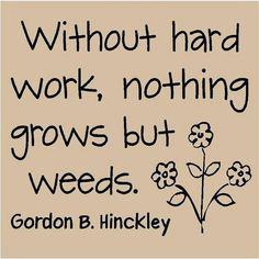 Pres. Hinkley quote