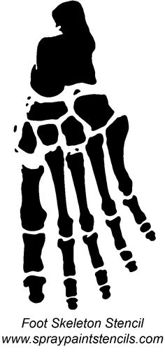 Foot skeleton Foot Skeleton, Skeleton Tattoos, Skeleton Template, Skeleton Anatomy, Hand Tats, Skull Hand, Stained Glass Patterns, Painted Pumpkins, Grim Reaper