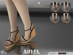 The Sims Resource: Madlen Ariel Shoes by MJ95 • Sims 4 Downloads