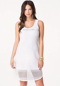 Petite Logo Shirttail Dress