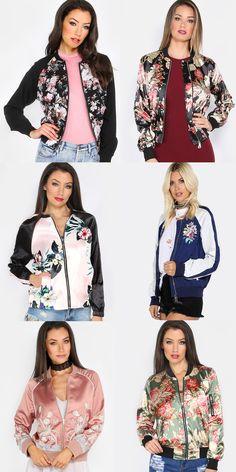 Sheer Floral Bomber Floral Jacket