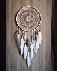 """Ловец снов """"Venus""""   dreamcatcher handmade beads witch witchcraft bone feathers pagan forsale ловец снов перья Moon Dreamcatcher, Crochet Dreamcatcher, Dreamcatchers, Easy Crafts, Diy And Crafts, Making Dream Catchers, Twisted Tree, Indian Crafts, Fashion Room"""