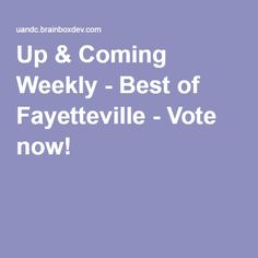 Up & Coming Weekly - Best of Fayetteville - Vote now for Carolina Specialties Int.! #CSiPromos