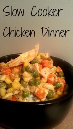 Slow Cooker Chicken Dinner