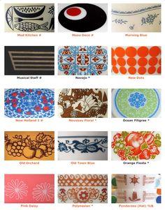 Pyrex patterns 7