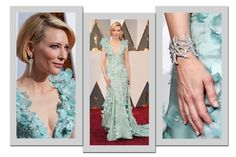 Mais bem vestidas do Oscar (Foto: Getty Images)