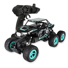 Physport RC Toy Cars Off Road 6WD Racing car Climbing Vehicle Monster Truck 1:14 Scale 2.4Ghz High Speed Remote Control Toys (Blue) #Physport #Cars #Road #Racing #Climbing #Vehicle #Monster #Truck #Scale #.Ghz #High #Speed #Remote #Control #Toys #(Blue)