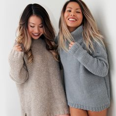 Oversized, warm, and soft to the touch. Those are some of my favorite words to describe my ideal sweater. Knit all in the reverse stockinette stitch, the Joey Sweater is super beginner-friendly and a winter favorite. Pair it with dark jeans for a relaxed day out, or throw a fitted blazer over it...