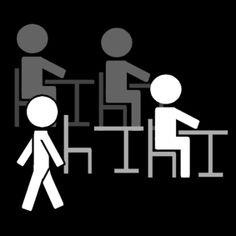rondlopen in de klas / klas: rondlopen