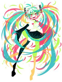 """Day 2101 - 15 February 2017 Commission for ! It's for a Hatsune Miku cover of """"World Is Mine"""" for Valentine's day, you can check it out in the links below! Leprechaun, Project Tiger, Character Art, Character Design, Fanart, Illustrations, Cartoon Art, Cool Drawings, Kawaii Anime"""