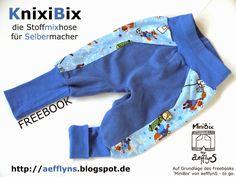 Na, wie läuft die *Winterproduktion* ?       Vor einiger Zeit habe ich euch die FEEBOOK-Erweiterung zur Kinderhose/Stoffmixhose 'Mini...