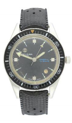 Favre Leuba Deep Blue Favre Leuba, Watch Room, Tictac, Vintage Watches, Deep Blue, Clocks, Stainless Steel, London, Accessories