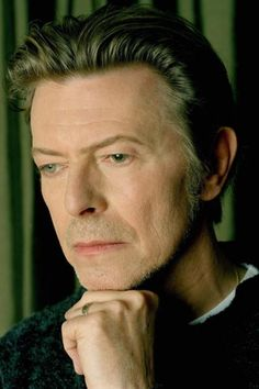 David Bowie, New York City, 2001. Photographed by Myriam Santos-Kayda.