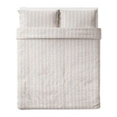 RAJGRÄS Duvet cover and pillowcase(s), stripe - stripe - Full/Queen (Double/Queen) - IKEA