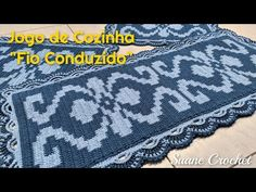Crochet Videos, Kitchen Playsets, Crochet Rug Patterns, Crochet Kitchen, Crochet Storage