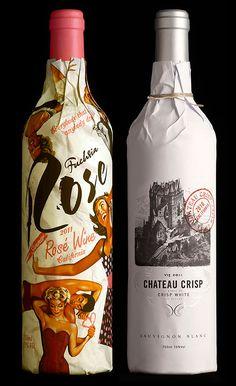 stranger and stranger wine packagine 2012 5 TheCoolist Wine Bottle Design, Wine Label Design, Wine Bottle Labels, Wine Bottles, Bottle Packaging, Brand Packaging, Packaging Design, Branding Design, Corporate Branding