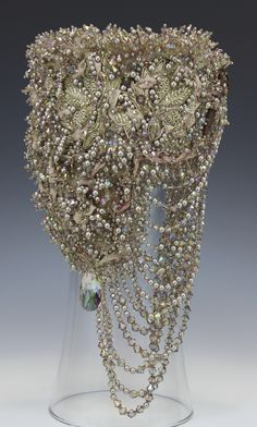 'Tattered' by Diane Hyde - 2013 Bead Dreams competition 3rd place Crystal Jewelry Category