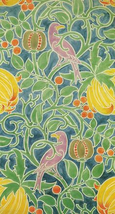 Textile design | Watercolor, Patterns and Illustrations