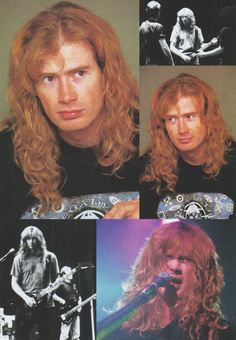 Dave Mustaine of Megadeth (Feb/1998/BURRN!)
