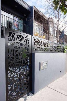 22 best compound wall images driveway gate gates driveway rh pinterest com