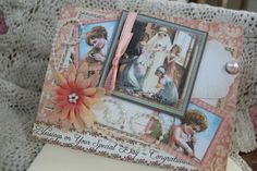 Victorian Wedding Card Graphic 45 Paper by HotCocoaPhotoBooks, $4.00