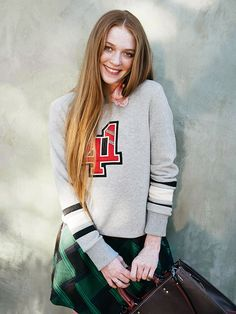 It's Official: This 15-Year Old Is the Next Instagram Star via @WhoWhatWear