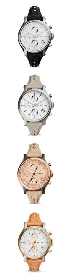af5bd6997 #Fossil ORIGINAL BOYFRIEND Chronograph Ice Watch, Fossil Watches For Men,  Fall Scarves,
