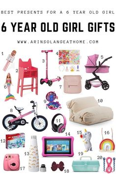 Are you ready to do your Christmas shopping, or other holiday or birthday shopping for a 6 year old girl, or girl in elementary school? Check out this post with the best 6 year old girl gifts this year and streamline your shopping! Christmas Gifts For 5 Year Olds, Best Christmas Gifts, Christmas Shopping, Christmas Ideas, Christmas Time, Little Girl Gifts, Little Girl Birthday, Birthday Kids, Birthday Bash