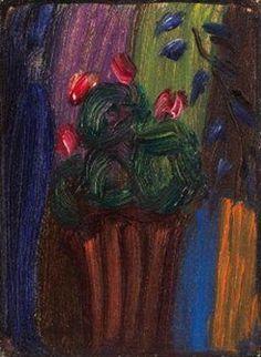 Rosa Alpenveilchen By Alexej von Jawlensky ,1936