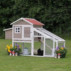 The Sophie Chicken Coop with Run - Farm Fowl