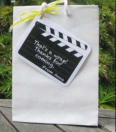 Movie Night Party Invitation & Printable Collection // first time guest bags Movie Theater Party, Cinema Party, Movie Night Party, Movie Nights, Kids Movie Party, Movie Party Favors, Party Games, Hollywood Party, Hollywood Night