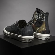 The Converse Chuck Taylor II has been storming the sneaker scene for some time now; check out their first ever collaboration with graffiti artist Futura. Converse Chuck Taylor Ii, Chuck Ii, New Shoes, Sneakers, Blog, Fashion, Shoemaking, Tennis Sneakers, Sneaker