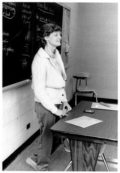 Martha Feldman teaches a class in the program that would later become known as the Gerald R. Ford School of Public Policy