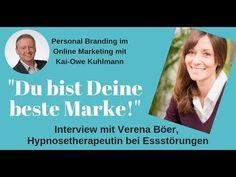 Interview mit Verena Boer, Hypnosetherapeutin bei Essstörungen Personal Branding, Interview, Marketing, Early Childhood, Mirror Image, Relationship, Learning, Health, Self Branding