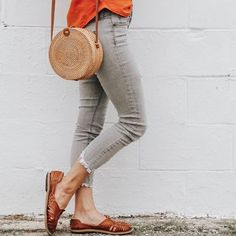 The Ana shoe from SOLS is handmade with genuine leather. Its the perfect shoe to travel with, it's cute and comfortable. Trending Shoes For Men, Summer Accessories, Fashion Accessories, Cool Summer Outfits, Black Dress Shoes, Stylish Boots, Classy Women, Street Styles, Jeans