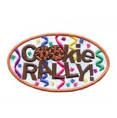 There is no better way to start cookie season than with a cookie rally. And there is no better way to add to the excitement than with our Cookie Rally fun patch! Available at MakingFriends.com