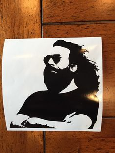 Jerry Garcia vinyl sticker by StickemandSwitchem on Etsy