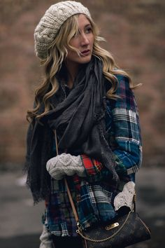 layers of flannel.