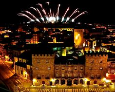 Cimadevilla, Fuegos 2013, Gijón, Asturias, España. Opera House, Building, Travel, Fire, Viajes, Buildings, Destinations, Traveling, Trips