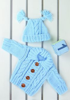 Stylecraft Baby Cardigan & Hat Special Knitting Pattern 8361  Aran | Knitting | Patterns | Minerva Crafts