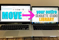 How to Move Your Silhouette Studio Library to a New Computer