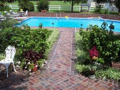 What if we took the deck down altogether and built a brick patio?