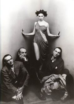 //Ballet Society by Irving Penn, 1948  Such a classic picture and Tanny LeClerq looks so beautiful.