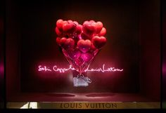 Louis Vuitton x Sofia Coppola Spring/Summer 2014 Fantasy Window Displays