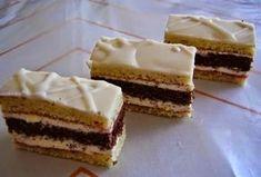 TutiReceptek és hasznos cikkek oldala: Fehércsokis-citromos szelet Hungarian Recipes, Hungarian Food, Vanilla Cake, Tiramisu, Cheesecake, Baking, Ethnic Recipes, Hungary, Cakes
