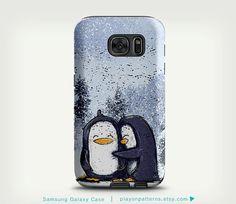 Samsung Galaxy S7 Case Penguin Samsung Galaxy S5 by playonpatterns