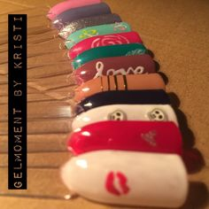 Nail art is easy with #gelmoment