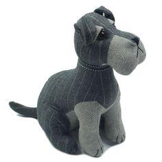 I love my Dog Novelty Socks Black PROUD  Schnauzer Owner Socks