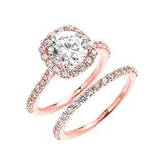 """Put a dreamy spin on your sparkler with a ring in rose gold. """"Rose gold ring sales quadrupled in 2015. With celebs like Blake Lively and Leighton Meester sporting rose gold, I see no end in sight,"""" says je..."""