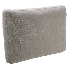 SIDNEY Light grey fabric large scatter cushion